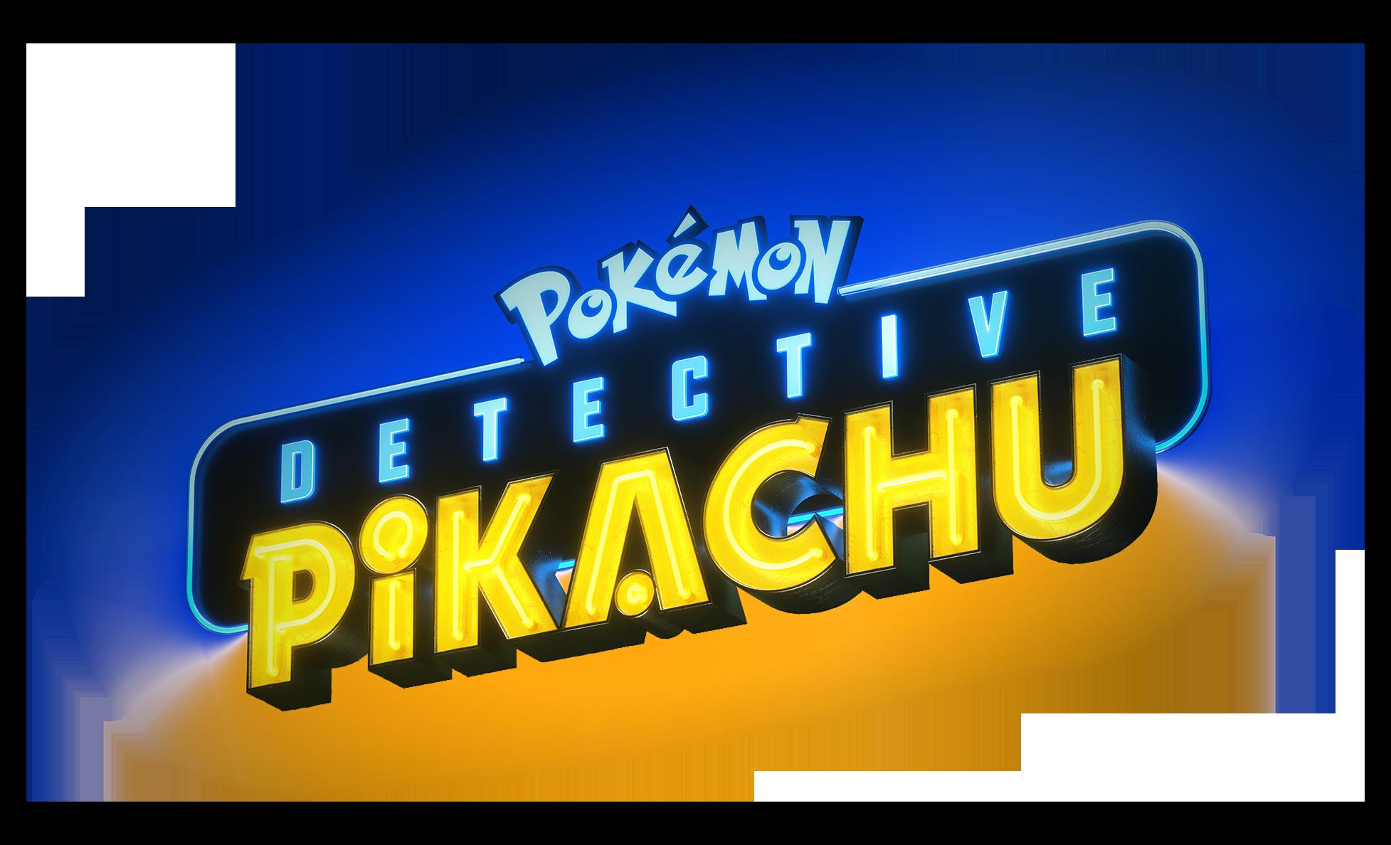 Detective Pikachu Movie Logo