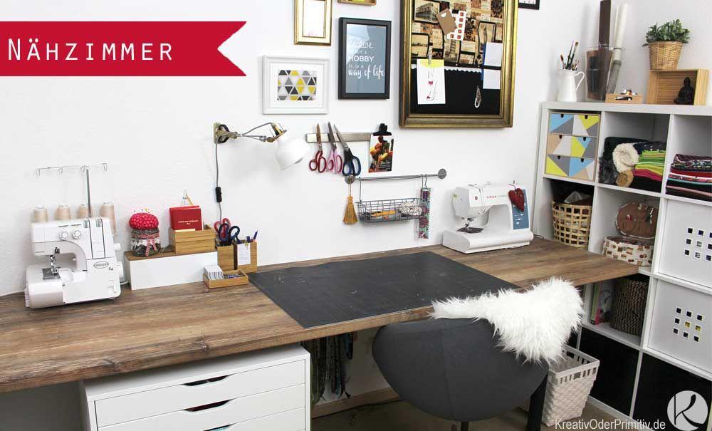 Arbeitszimmer Ikea ~ Diy craftroom craft sewing nähzimmer nähecke ikea
