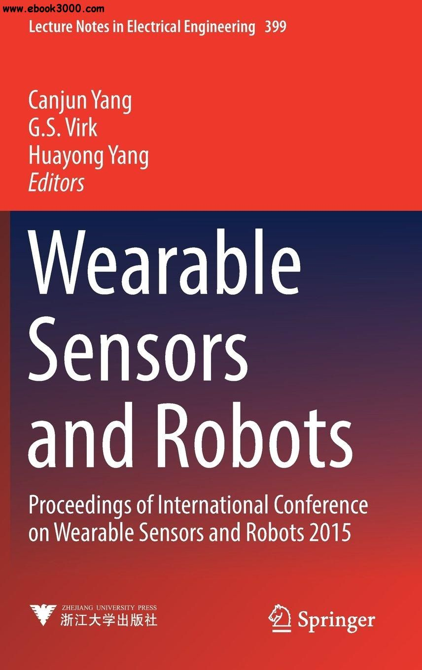 Wearable Sensors and Robots Electrical engineering books