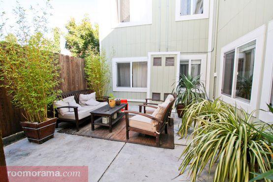 Aluguéis de Curta Duração em Mission - Apartamento: Sunny Mission Apartment with Garden - Roomorama