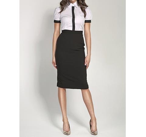 015ba3eede56 Falda tubo negra | My Steez | Fashion, Lawyer outfit, Style