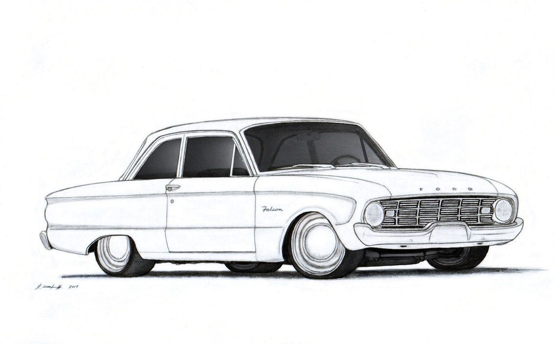 1960 Ford Falcon coloring book page! | Ford Falcon | Pinterest ...