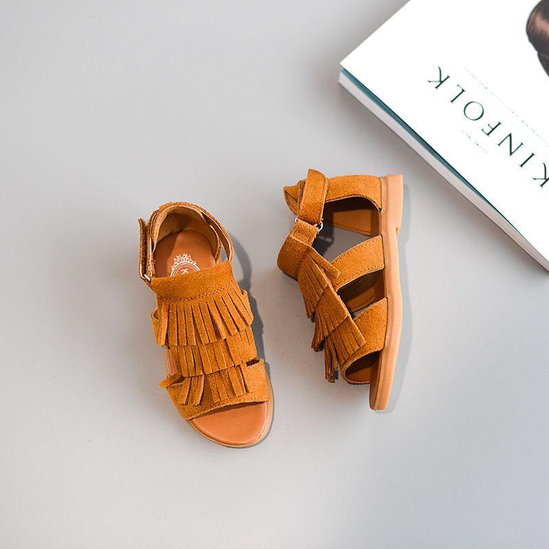 d8dd29221d837 Children Shoes 2017 Summer Baby Girls Sandals Short Ankle Gladiator ...