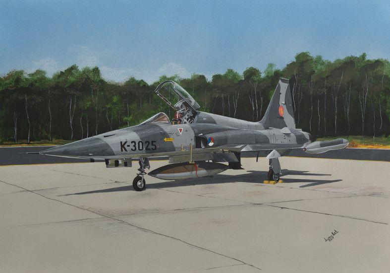 Lex Van Eck Northrop NF5 A Bestelnr KLU 100 In 2020