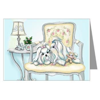 Forever in Love Greeting Cards (Pk of 20) Cute cats and