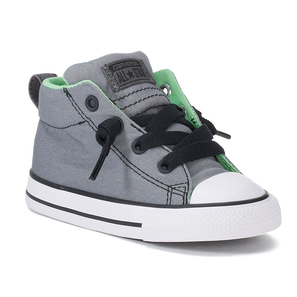 19ea8f3e1b33 Baby   Toddler Converse Chuck Taylor All Star Street Mid Sneakers ...