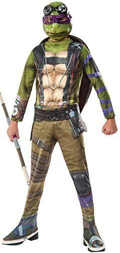 Rubies Costume Kids Teenage Mutant Ninja Turtles 2 Value Donatello Costume Medium ** Want additional  sc 1 st  Pinterest & Rubies Costume Kids Teenage Mutant Ninja Turtles 2 Value Donatello ...
