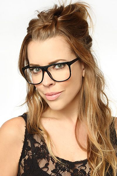 80cbf89473cd Windhollow  Oversized Clear Wayfarer Glasses - Tortoise - 5348-2 ...