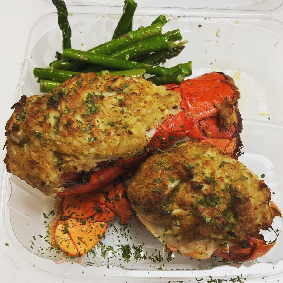 Bed Stuy Fish Fry On Instagram Stuffed Lobster Tails With