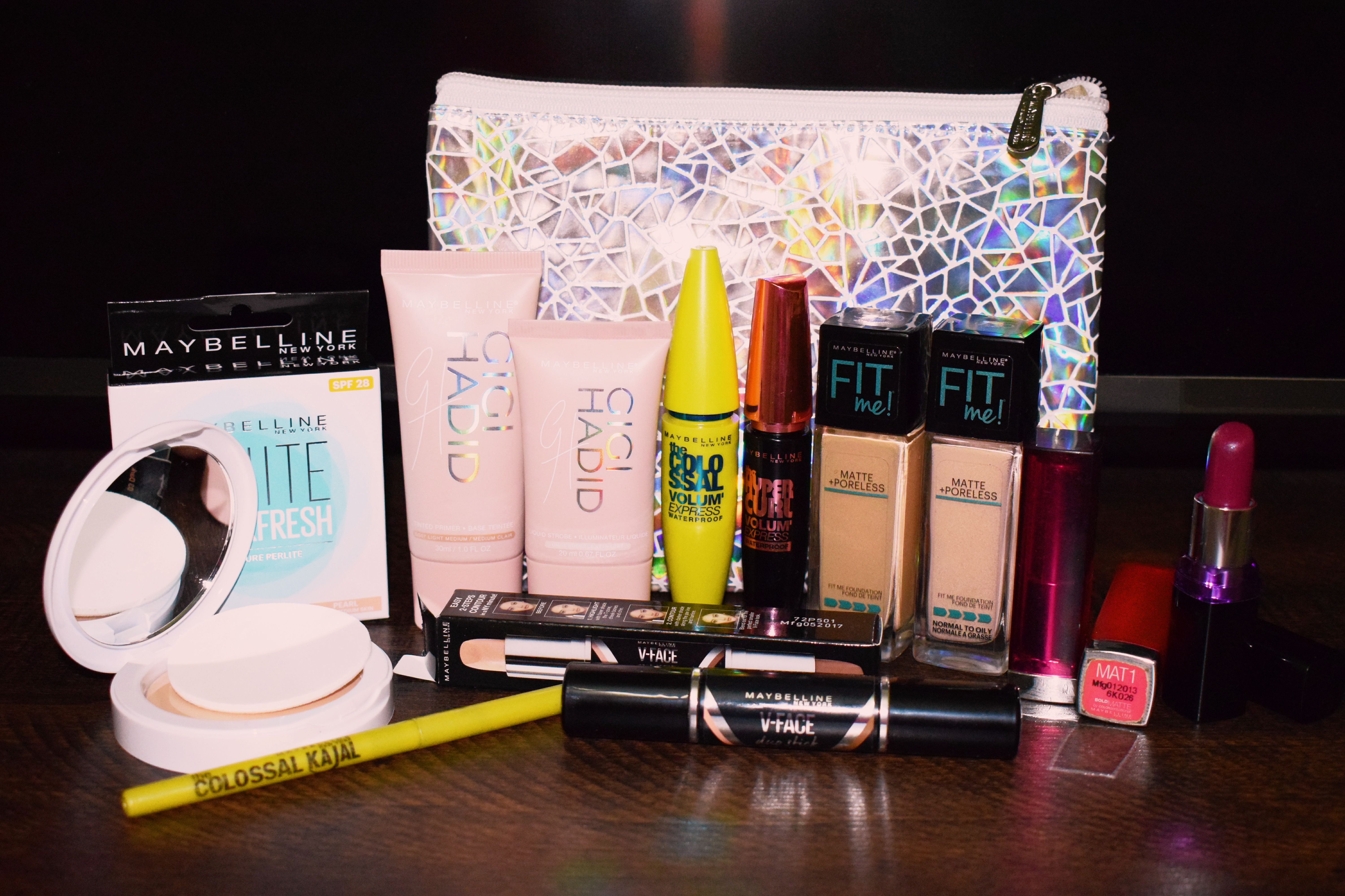 Maybelline New York makeup products (With images