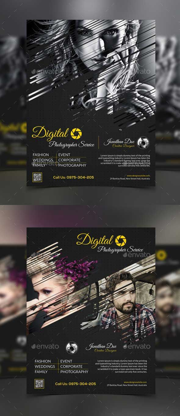 Professional Photography Flyer Template Psd Free Flyer Templates