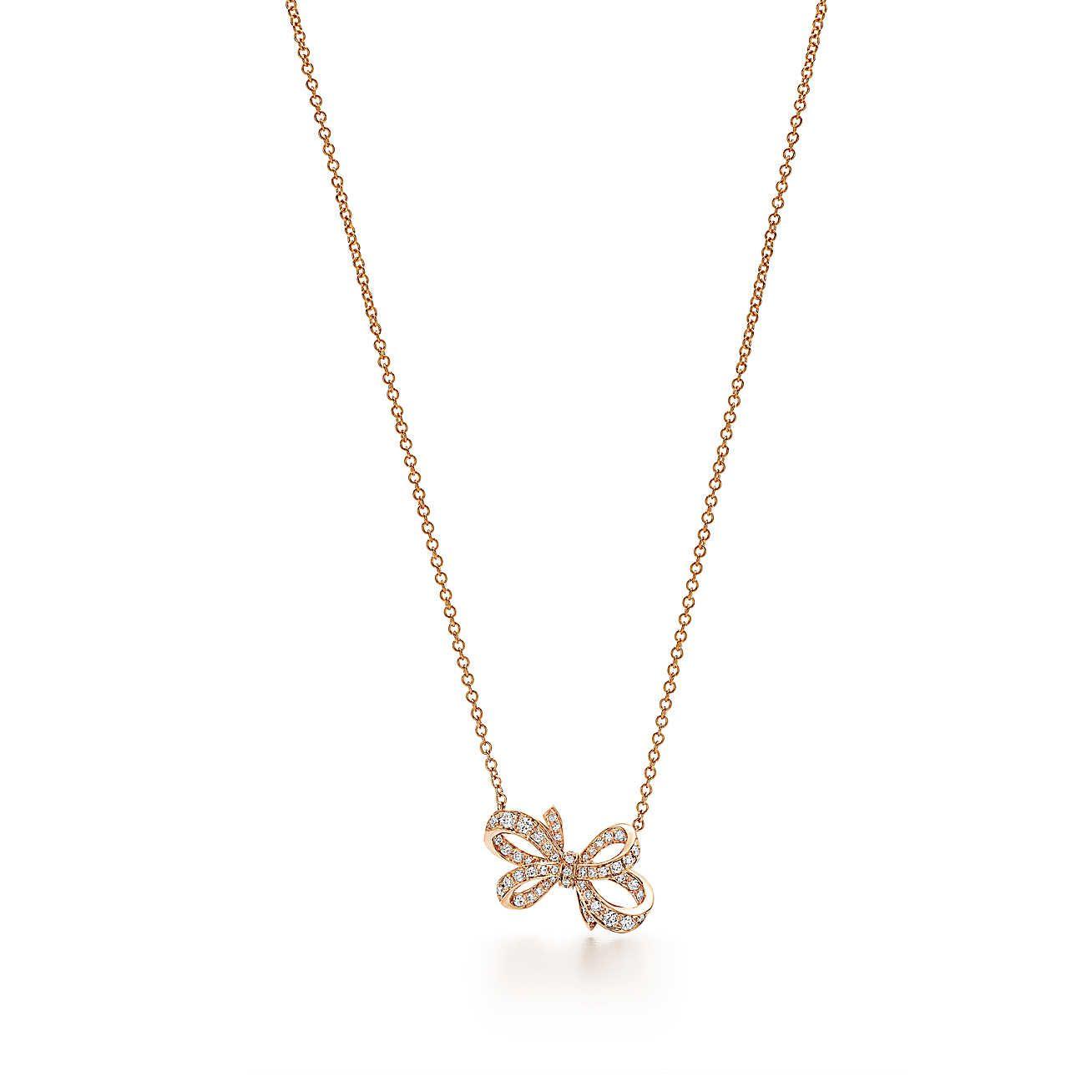 72dbfd90a 2019的Tiffany Bow Ribbon Pendant   Necklaces   Tiffany、Jewelry 和 ...