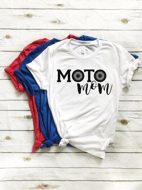 6b6f7efd59b27 Moto Mom - Dirt Bike T-Shirt Supercross Motocross Motorcycle Braaap ...