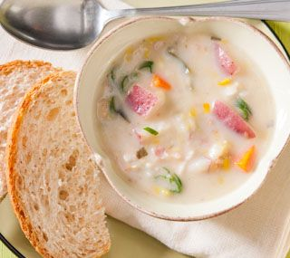 Leek Potato And Bacon Chowder Recept
