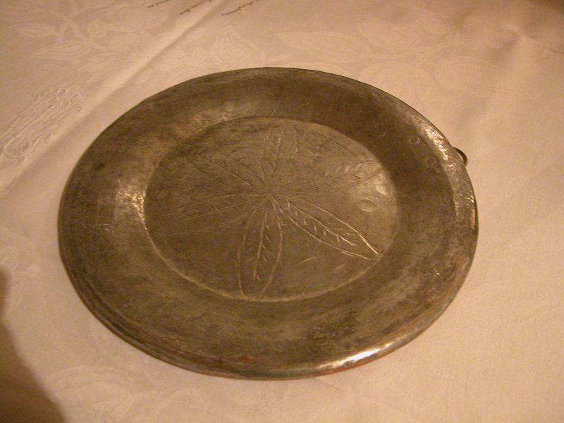 original tin plated copper dish