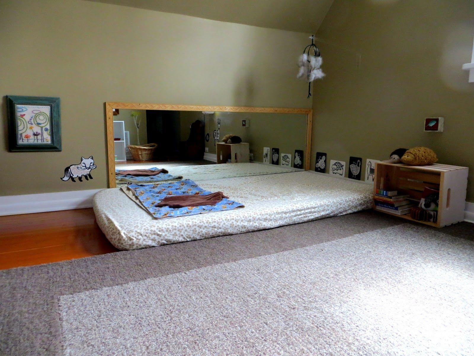 Chambre Montessori pour bébé Les grands principes