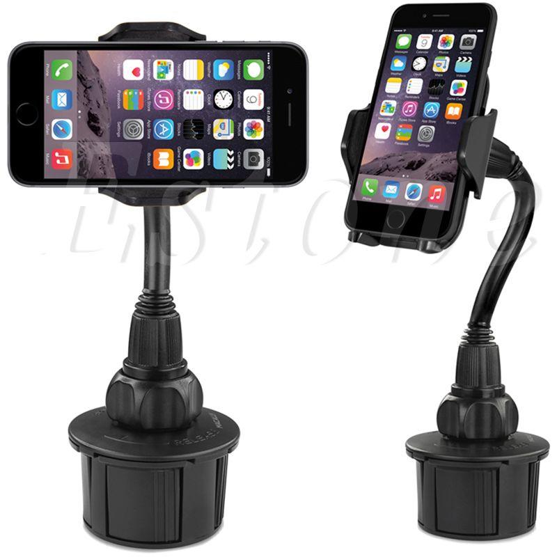 Portavasos universal del montaje del coche para gps/teléfono inteligente iphone/samsung/lg teléfono celular