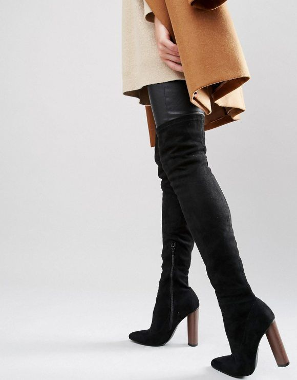 4f60c3c8025 Truffle Wham Over The Knee Stretch Boot by Truffle Collection. Shoes by  Truffle