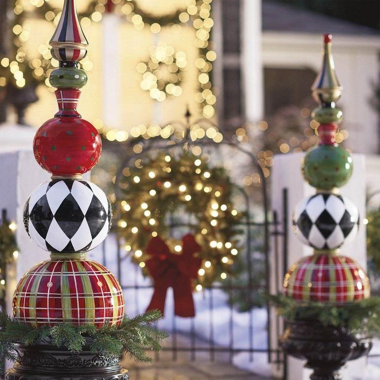 Decoration De Noel Exterieur En 70 Idees Geniales A Adopter Cette