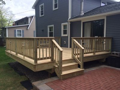 Best Decks And Patios Contractor In Webster Ny Class A