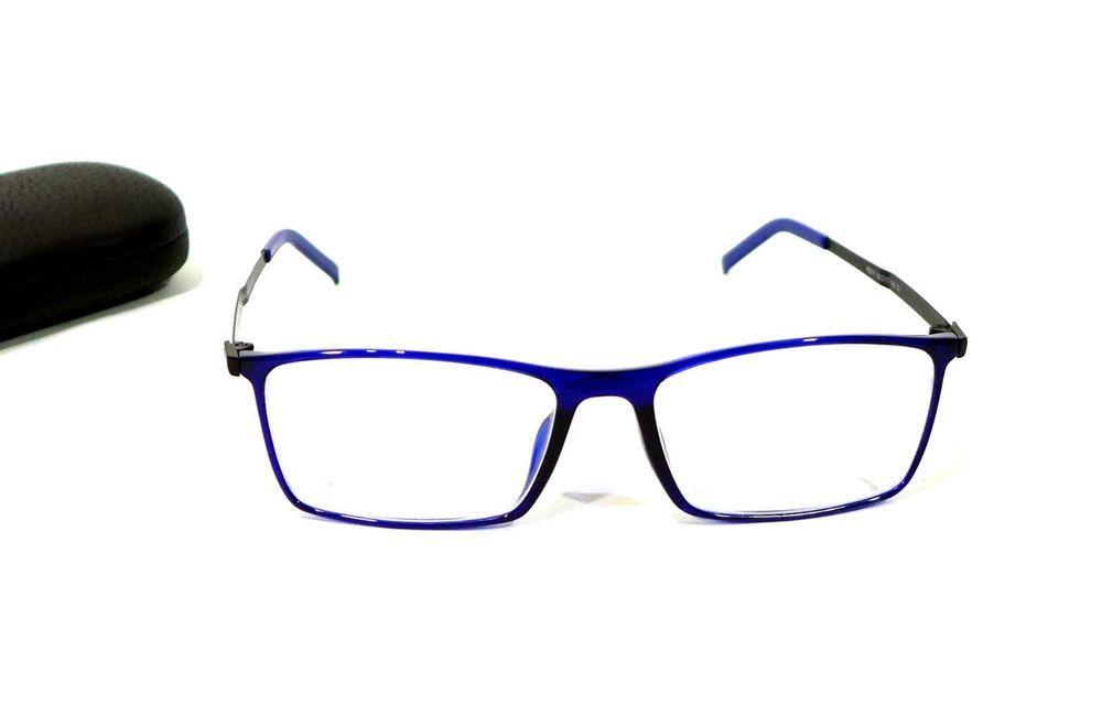 6d363a3fd91 Porsche Design P8317 55-17-140 Titanium Blue Eyeglass Frames Designs ...