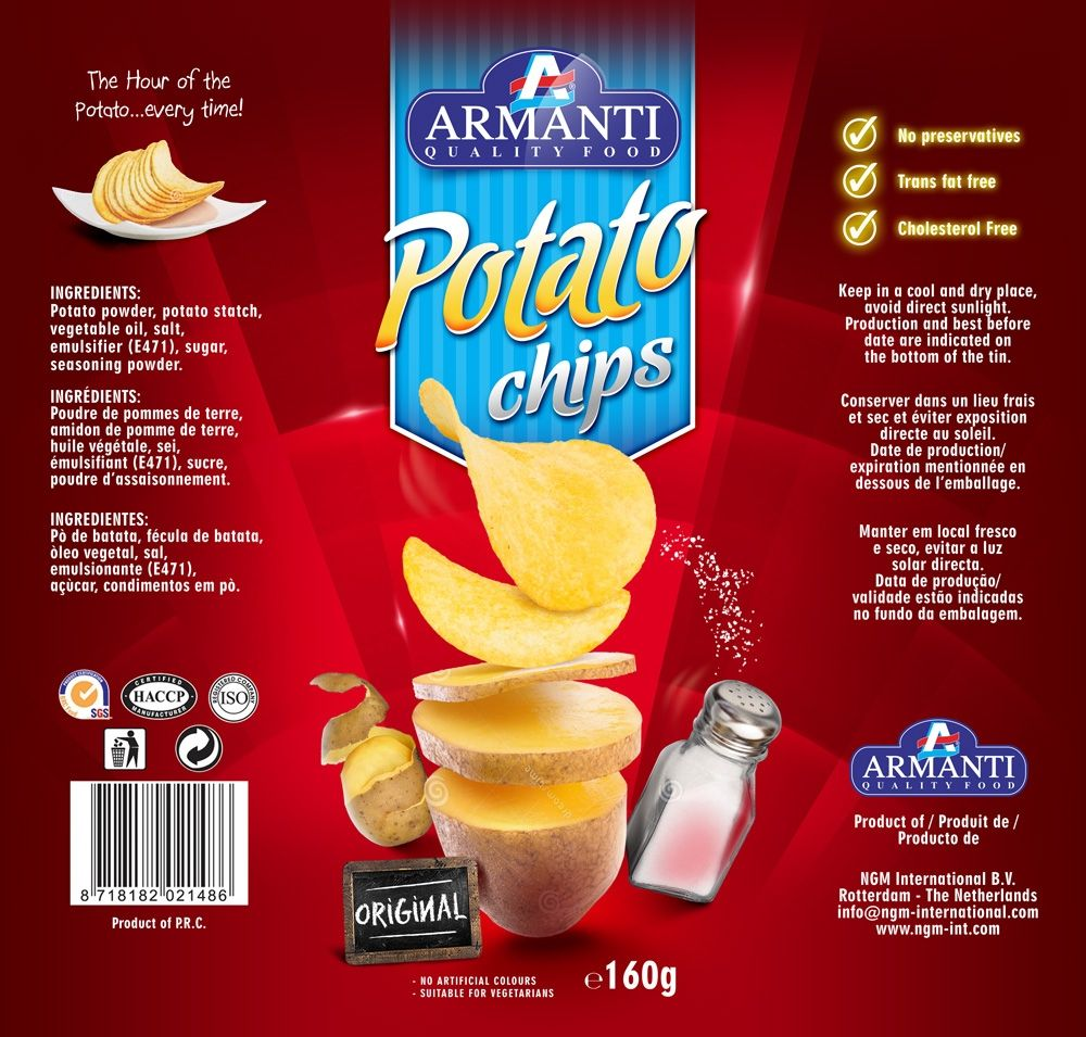 Design 22 By Tomdesign Org Give A Label To Our New Armanti Chips In Tins Food Packaging Design Chip Packaging Chips
