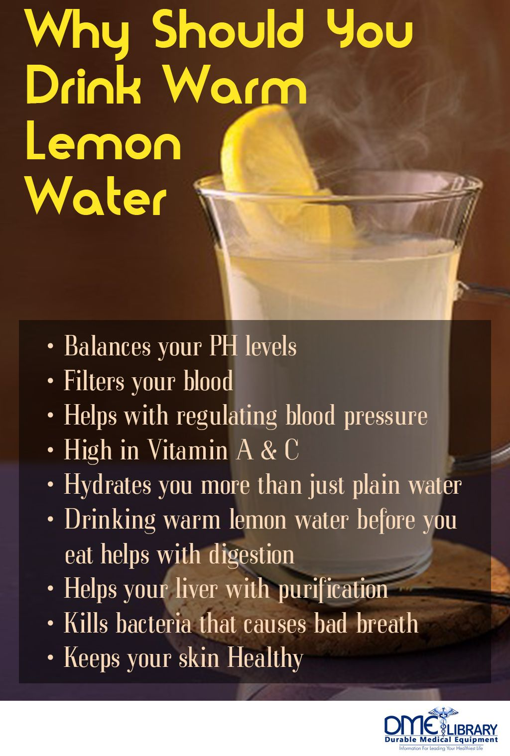 begin your day off with warm lemon water! this is the most