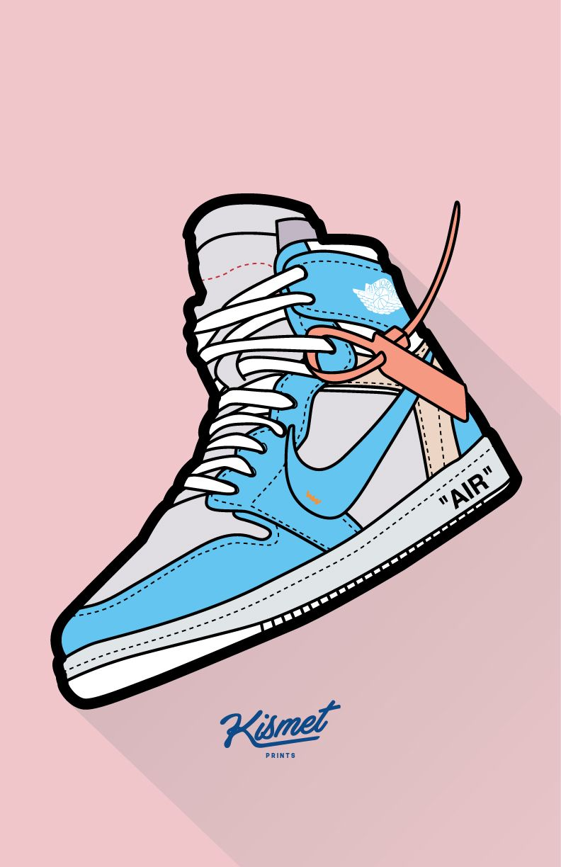 Off White X Air Jordan 1 Wallpaper In 2020 Shoes Wallpaper Nike Art Sneaker Art