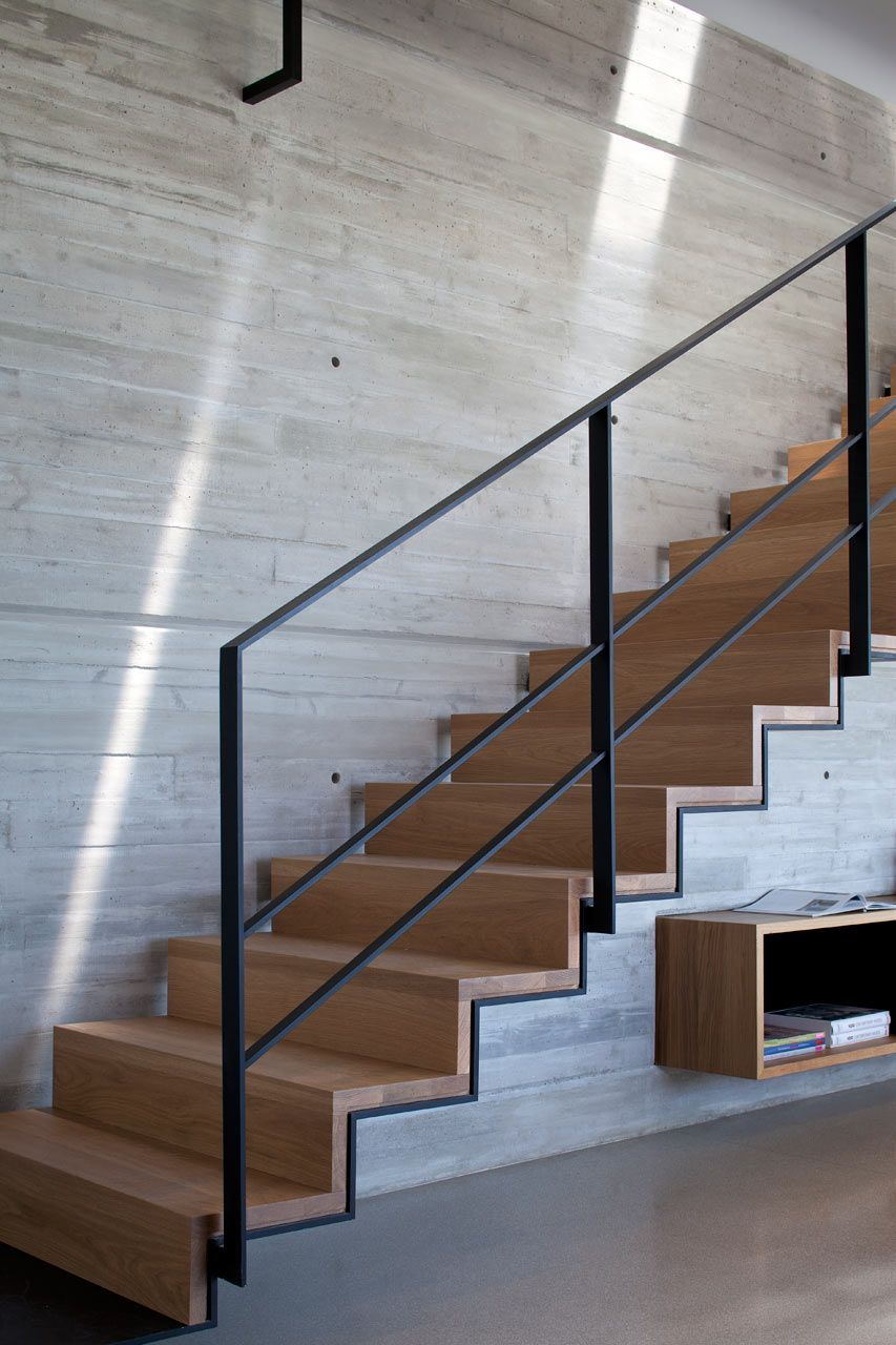 Escalera atico duplex en tel aviv pinterest escalera - Escaleras para duplex ...