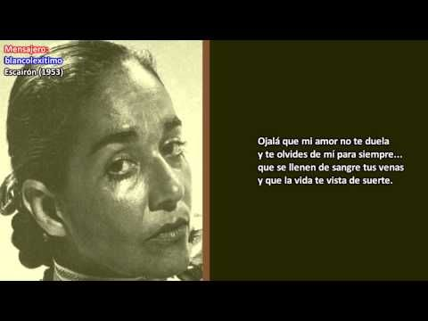 Chavela Vargas Qué Te Vaya Bonito Youtube Chavela Vargas Baladas Romanticas Canciones