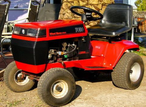 Toro Wheel Horse 212h Ride On Mower Service Repair Manual Riding Mower Repair Manuals Riding