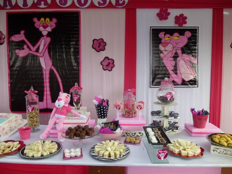 Pantera rosa kawaii - Decoracion fiesta rosa ...