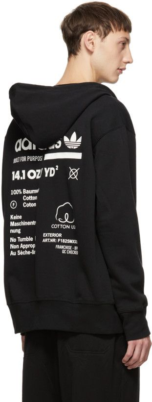 adidas Originals Black Kaval FZ Hoodie   Clothes: Fall
