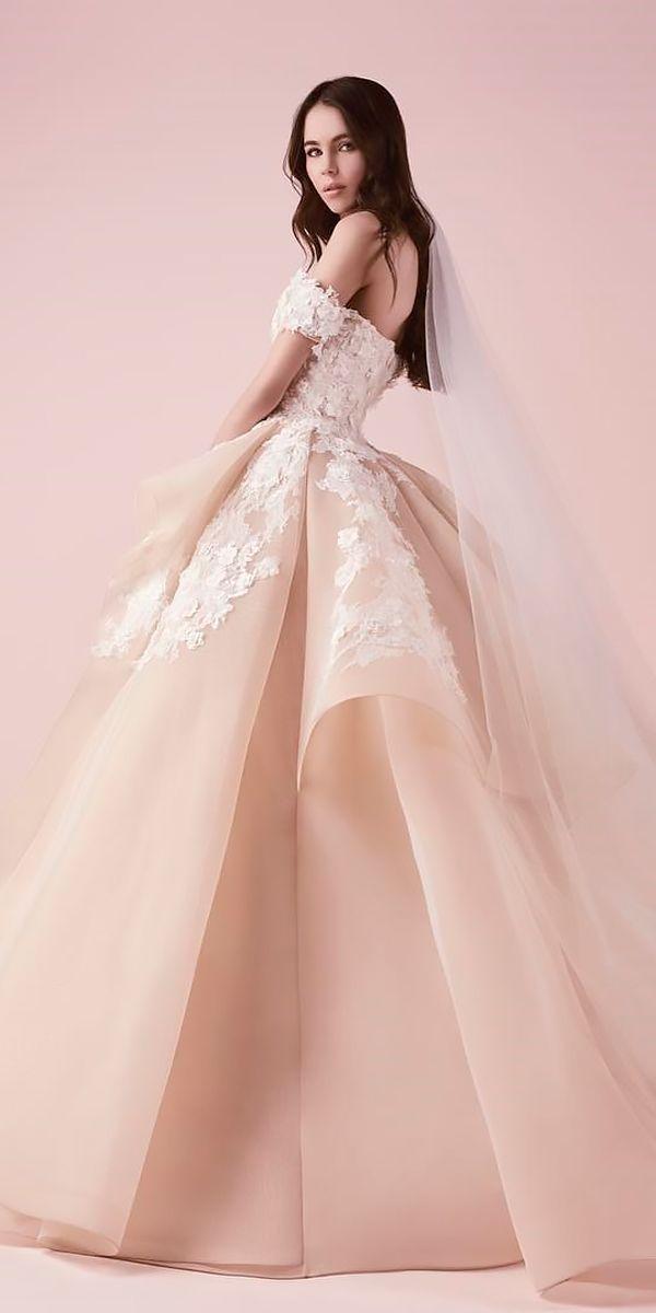 24 Awesome Off The Shoulder Wedding Dresses Inspiration | Boda