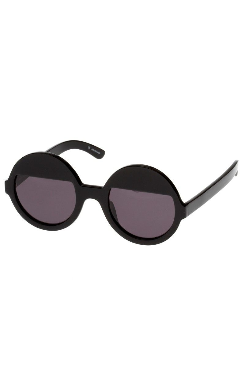 bellatrix black sunnies | Ksubi ' Book Club' collection - made in Japan