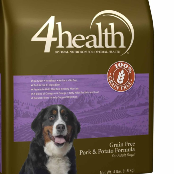4health Grain Free Pork Potato Dog Food 4 Lb Tractor Supply