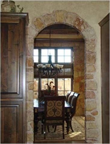 I Have Two Arches In My Entryway Hall Would Love To Make Them Look Like Stone Cly