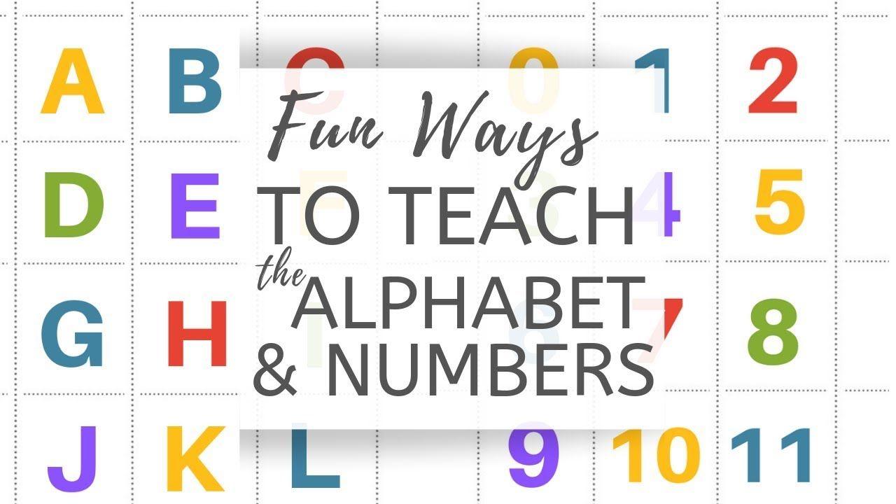 Fun Ways To Teach The Alphabet The Cheeky Homemaker Youtube