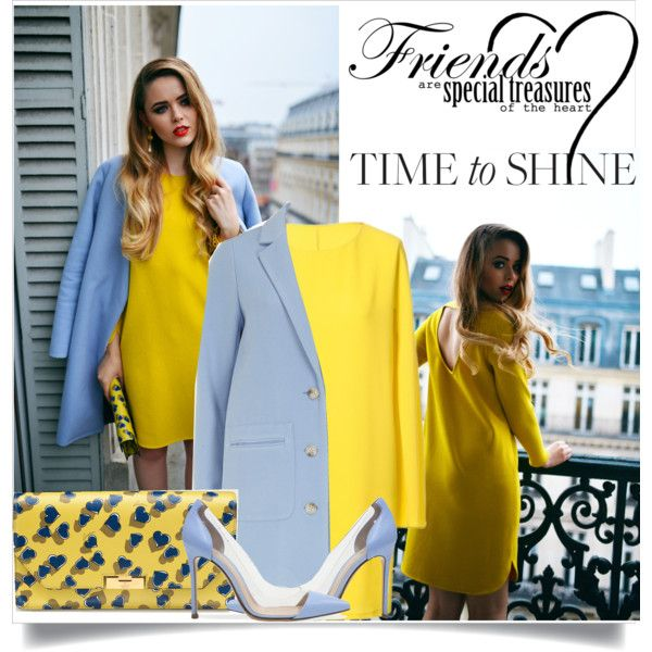 Time to shine/kayture/blogger style /pop of yellow