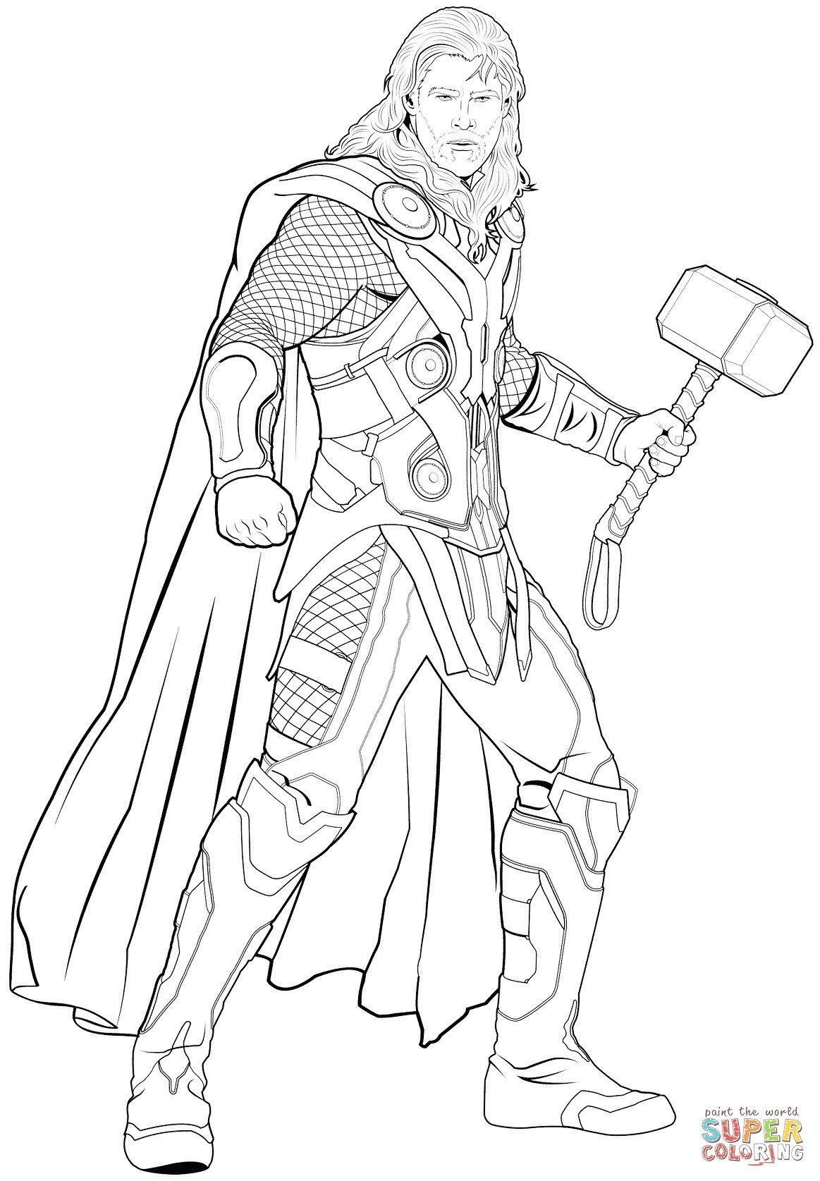 24 Amazing Photo Of Thor Coloring Pages Davemelillo Com Avengers Coloring Pages Avengers Coloring Marvel Coloring