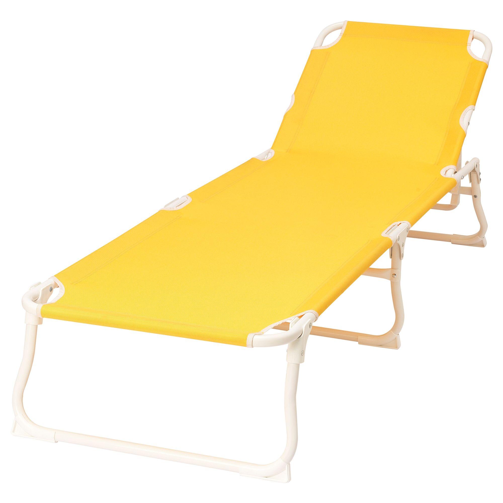 Hamo Sonnenliege Gelb Sonnenliege Ikea Outdoor Strand Liegestuhl