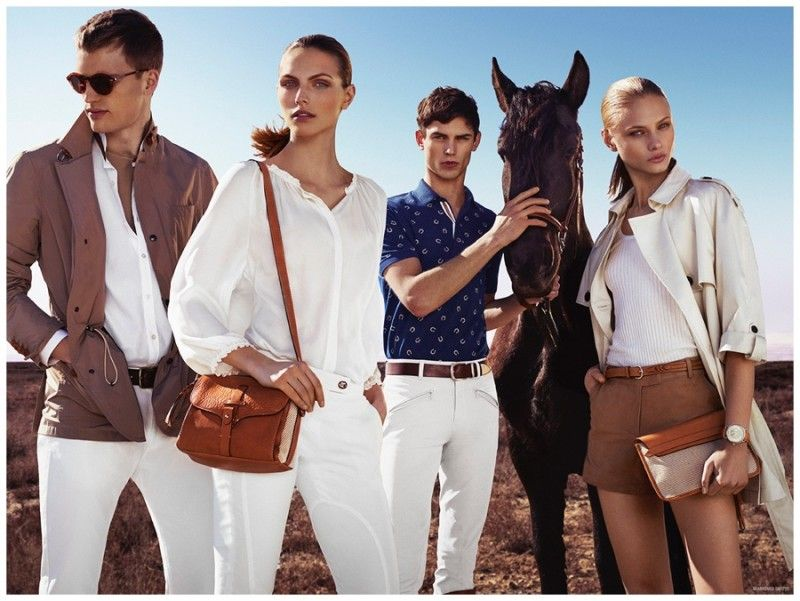 Massimo Dutti Revisits Equestrian Styles