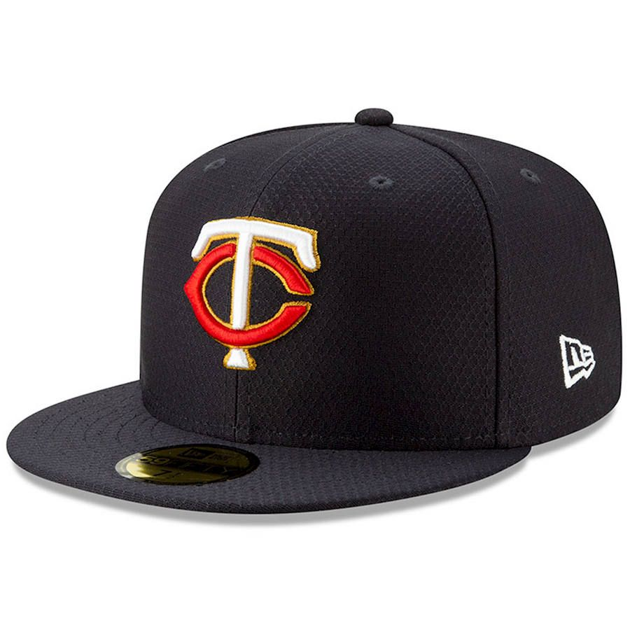timeless design 451f6 048e6 Men s Minnesota Twins New Era Navy 2019 Batting Practice 59FIFTY Fitted Hat,  Your Price   37.99