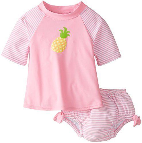 i play. Baby Girls' Mod Ultimate Swim Diaper Stripe Rashguard 2 Piece Set, Pink Pineapple,3T (2-3yr) i play. http://www.amazon.com/dp/B00SKUS6IA/ref=cm_sw_r_pi_dp_f8POwb0Q2JDGN