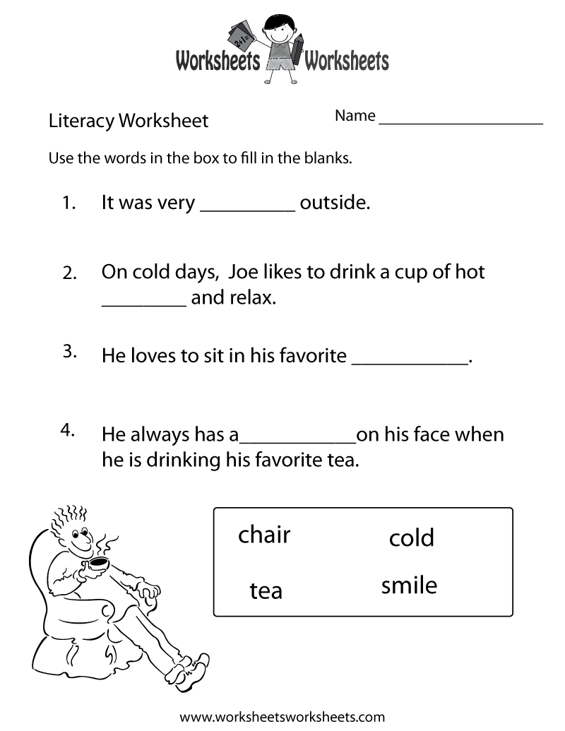 Worksheets Literacy Worksheets literacy printable worksheets coffemix 1000 images about homeworks on pinterest activities