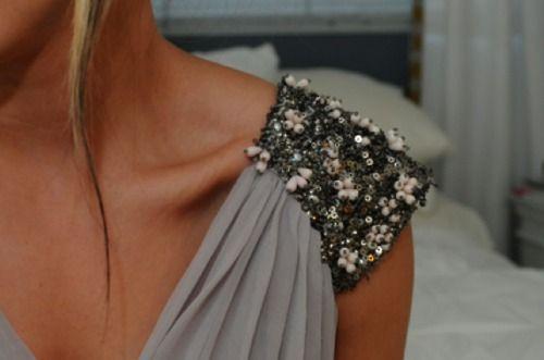 embellished shoulder, love always