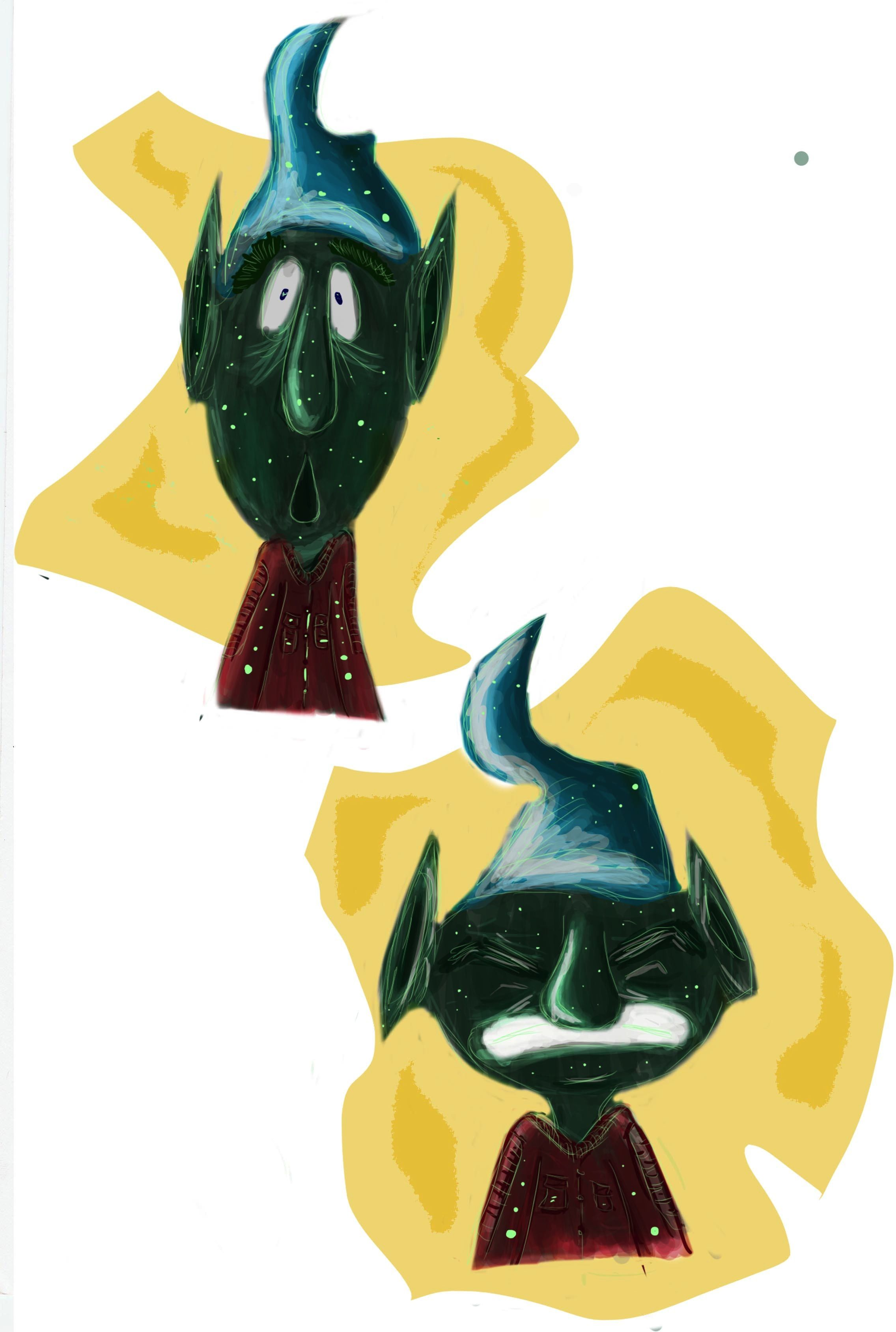 expresión duende