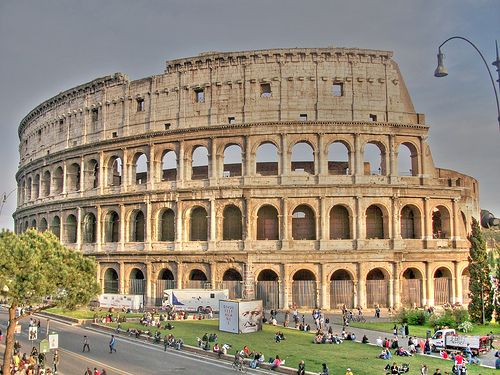 The Colosseum In Rome Is The Largest And Most Famous Monument In