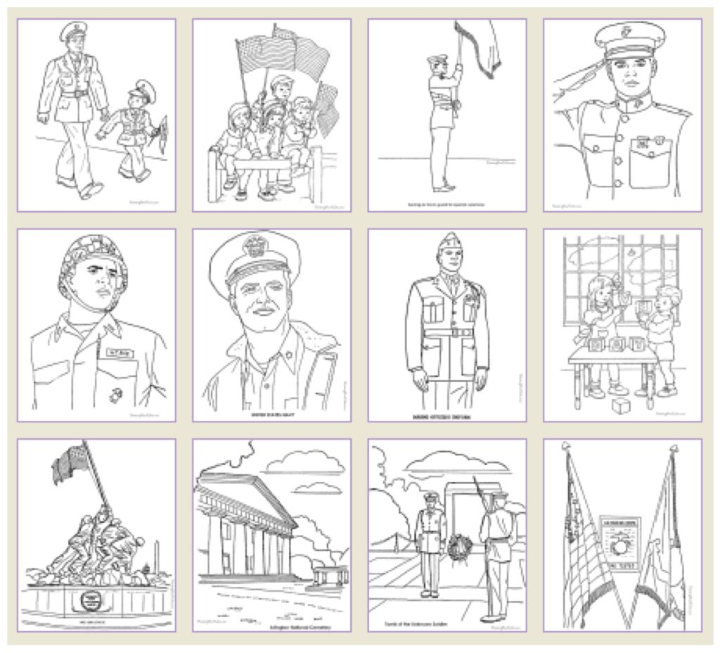 Veterans Day Printable Games