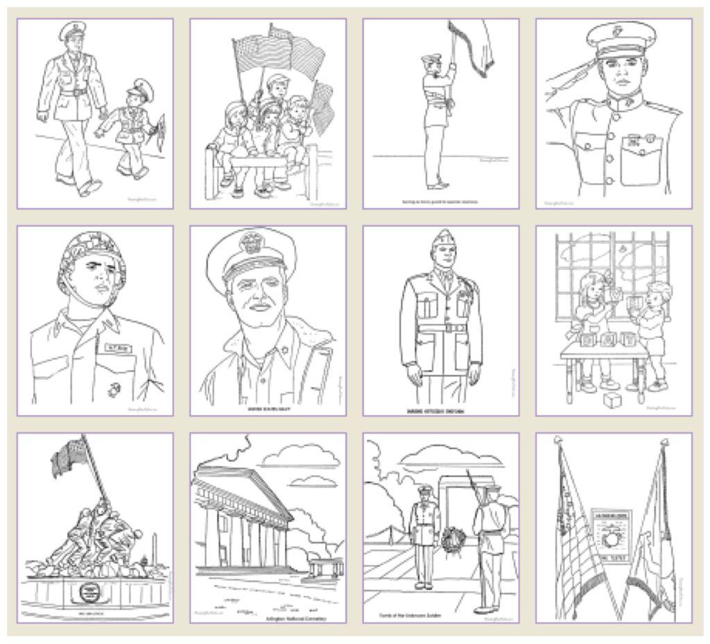 Veterans Day Printable Games